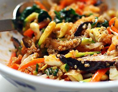 El boom de la quinoa - Cocinar quinoa con verduras ...