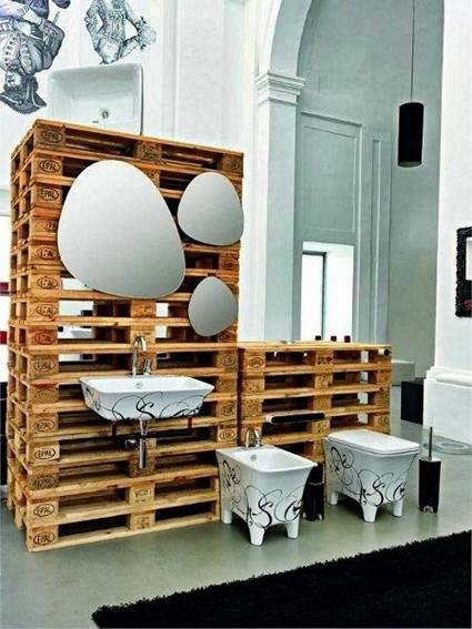 Inspiración deco: muebles con palets