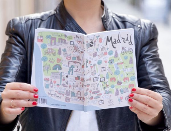 Mapa de Madrid by Lovely Streets