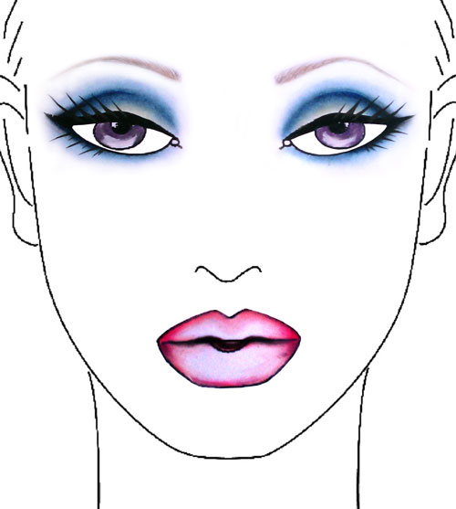 make-up-for-ever-blue-smoky-eyes-look