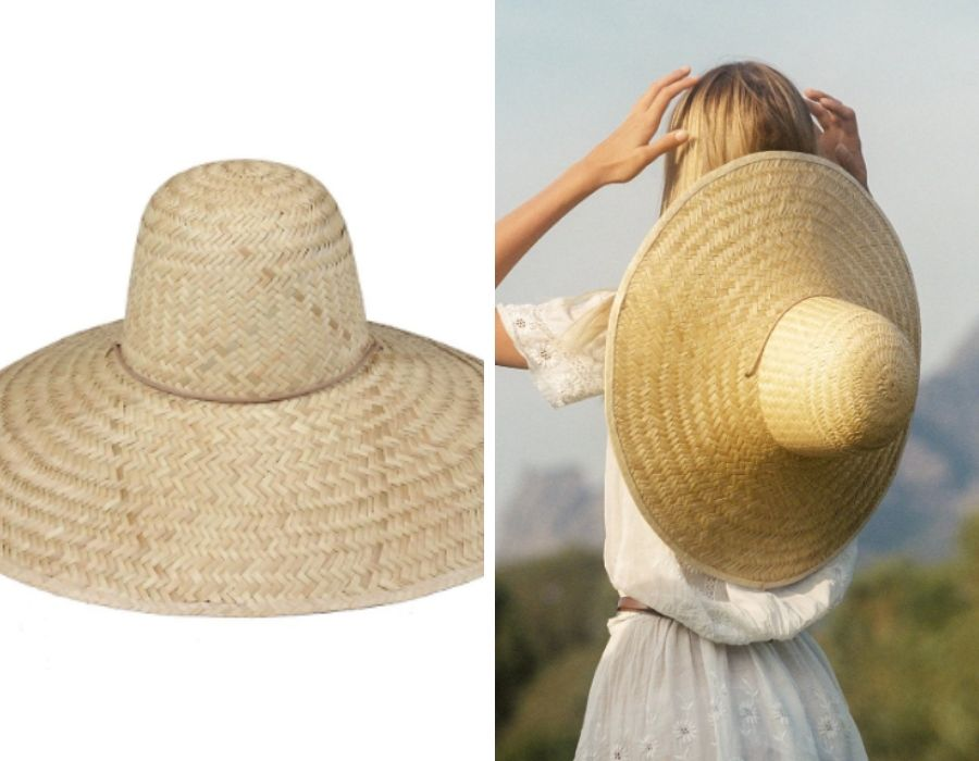 Sombrero de cúpula para días soleados