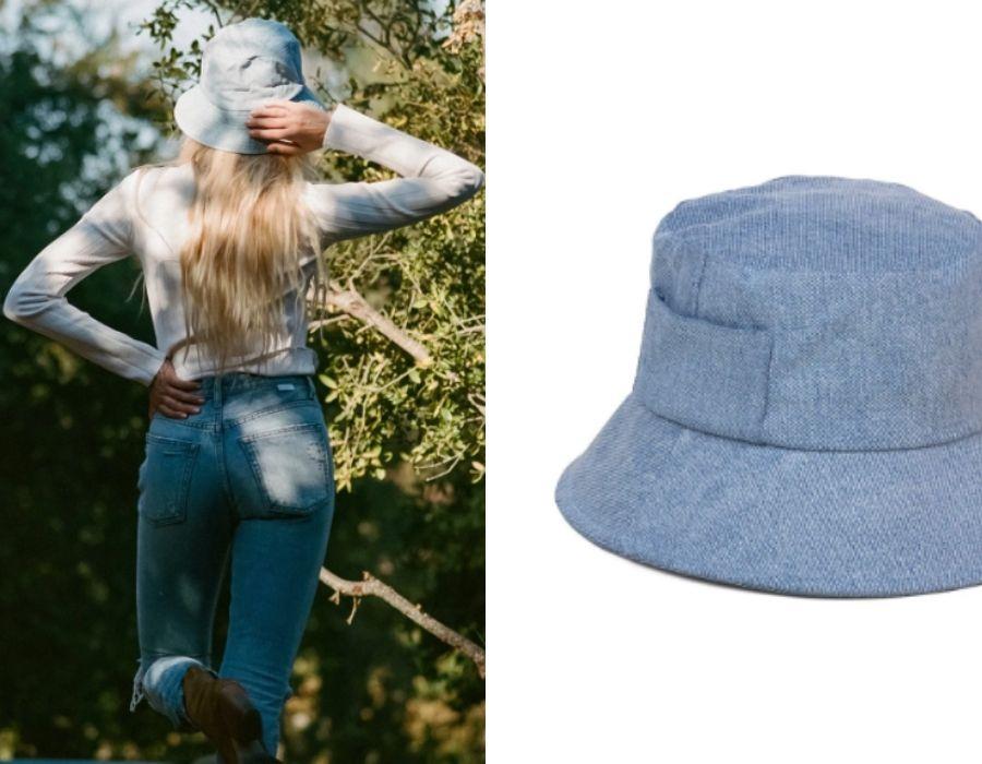 Sombrero Wave Bucket - Eco Denim