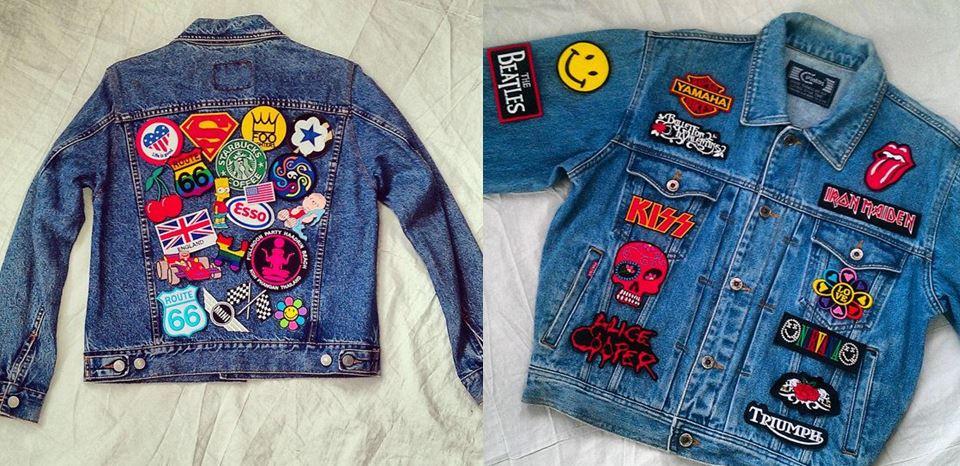El Attelier Magazine_ funny jeans_ parches_patched jeans_cazadora vaquera