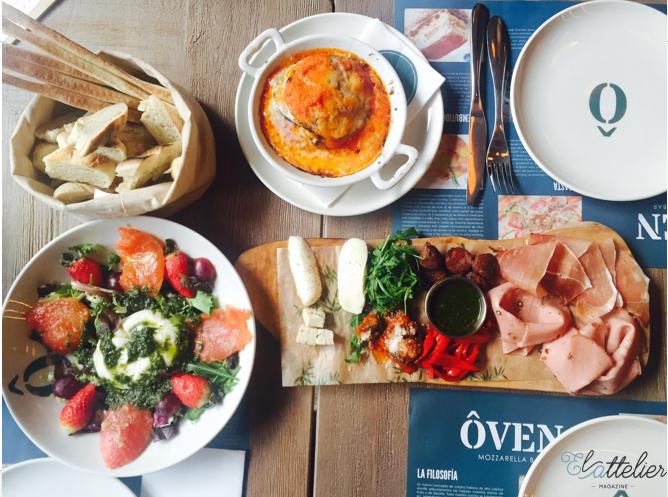 El Attelier_Oven Mozarella_restaurante oven gran vía_comida italiana 3