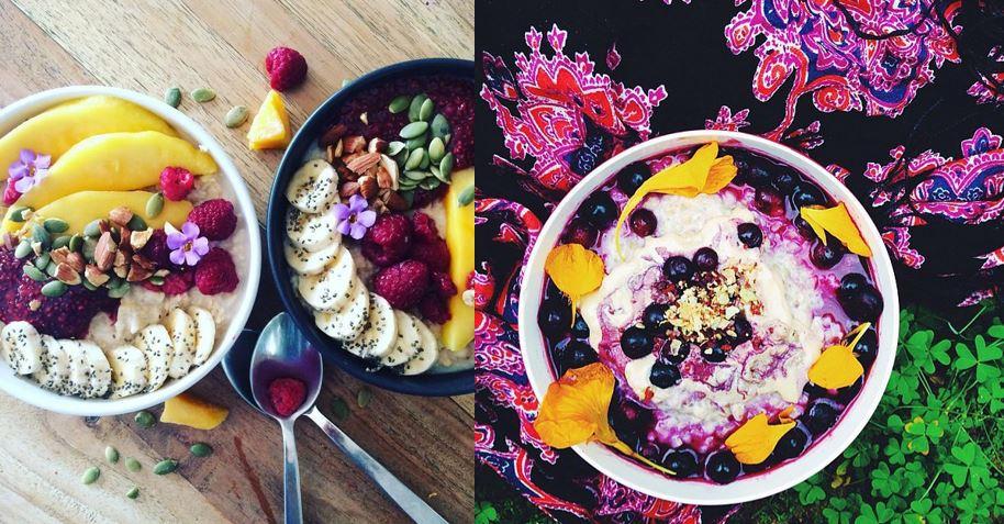 El Attelier_porrigde_avena_desayuno saludable_Instagram_