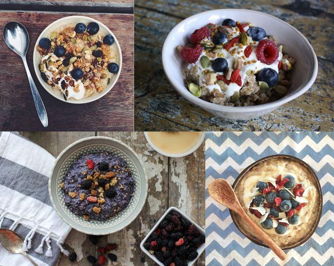 El Attelier_porrigde_avena_desayuno saludable_Instagram_gachas_frutos secos