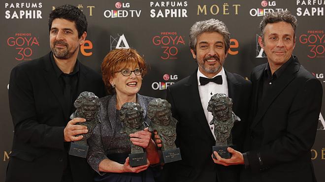 Madrid 06-02-2016 treinta edición de los Premios. goya mejor pelicula Imagen Juan Manuel Prats