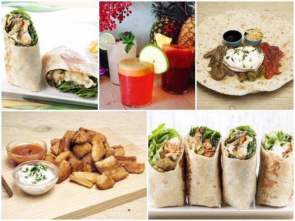 viva burger_elattelier_hamburguesas veggies_restaurante vegano_wraps veggies