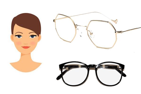 bc87138c8b Esto te permitirá mantener el elquilibrio de tus facciones. Puedes optar  por monturas con estética vintage. Las gafas con estructura geométrica son  ...