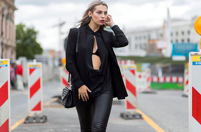 Mercedes-Benz Fashion Week Berlin Spring/Summer 2016 - Streetstyle Featuring: Masha Sedgwick Where: Berlin, Germany When: 10 Jul 2015 Credit: The Styleograph/WENN.com
