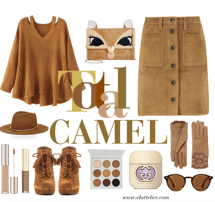 5 total looks - look camel