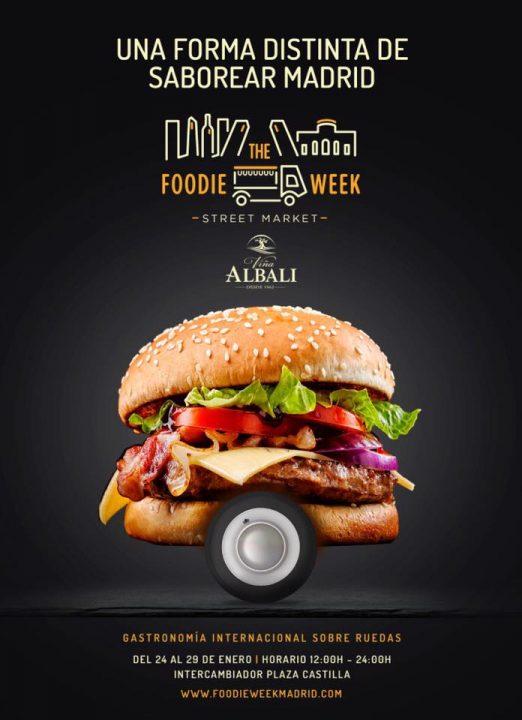 Cartel The Foodie Week Enero
