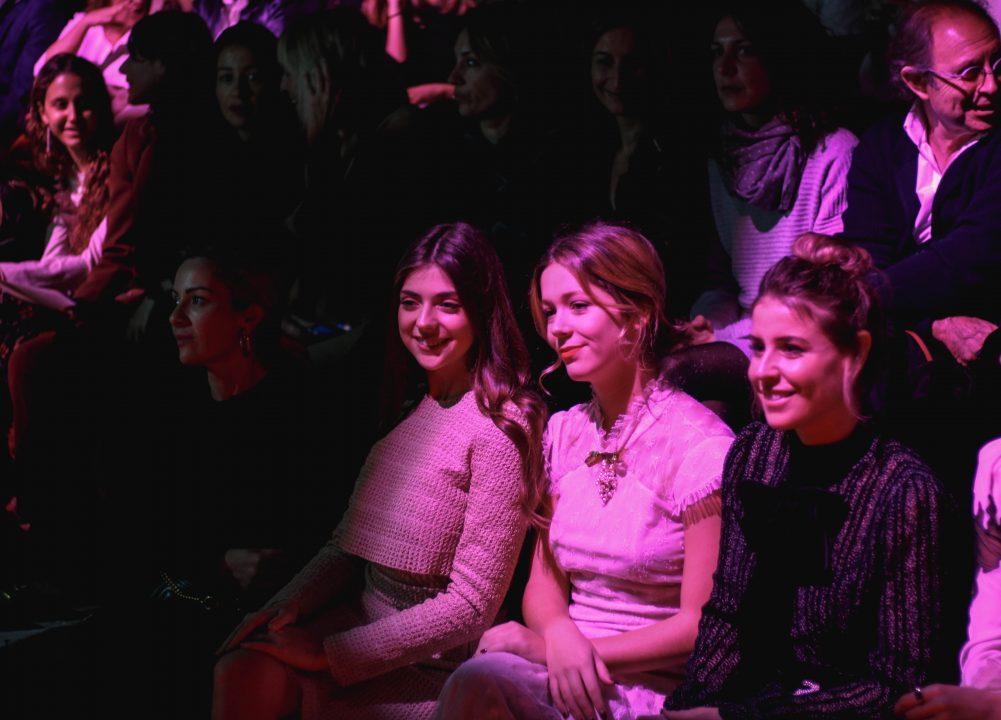 Front row MBFWM / Fotografía: @mel_veintitres