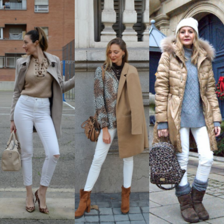 HOW TO WEAR: Pantalones blancos en invierno