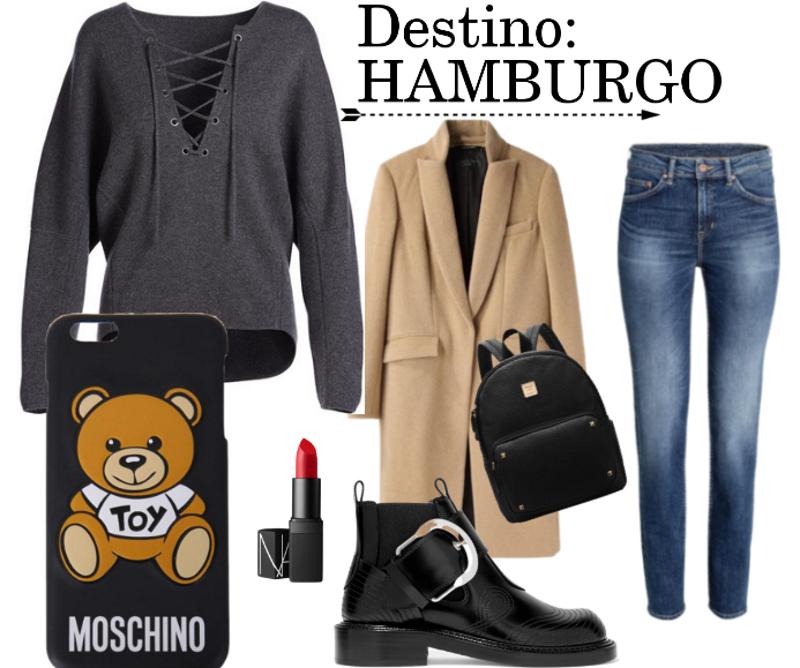 Outfit para un día en Hamburgo
