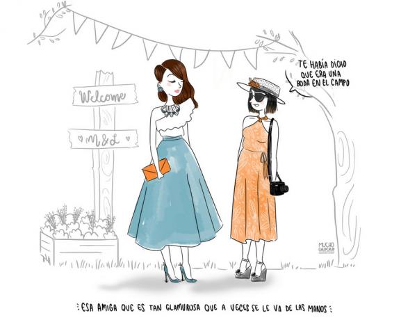Dulce y Galiana boda en el campo
