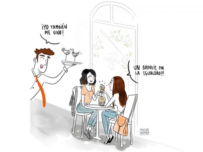 Dulce&Galiana viñeta día de la mujer