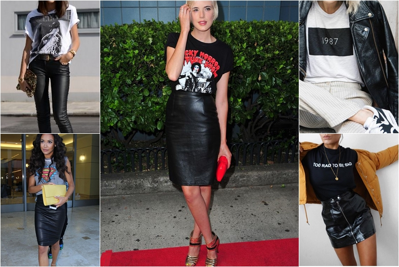 how to wear graphic tee