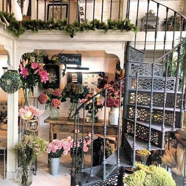 Trendy Places: Salon des Fleurs, la tetería y floristería de cuento