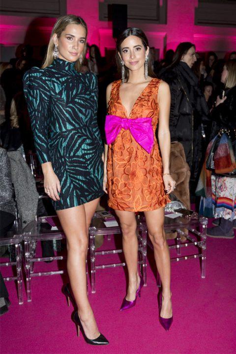 María Rubíes y María Pombo con dos de los looks más fotografiados