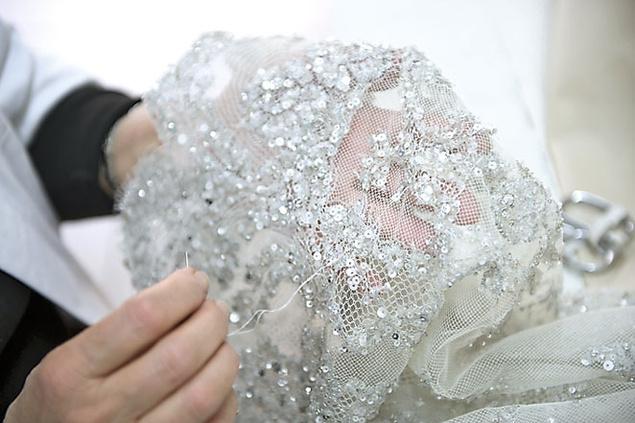 bordados y encajes de Elie Saab