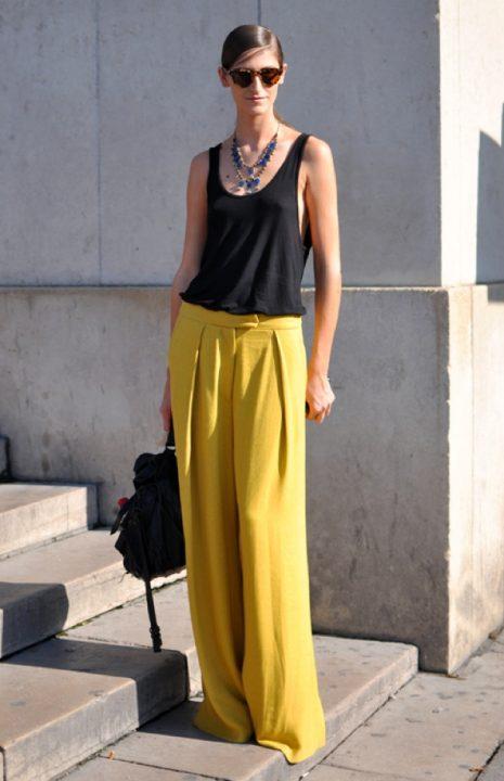 Tendencias: cómo vestir amarillo