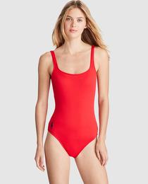 Bañador rojo de Zara