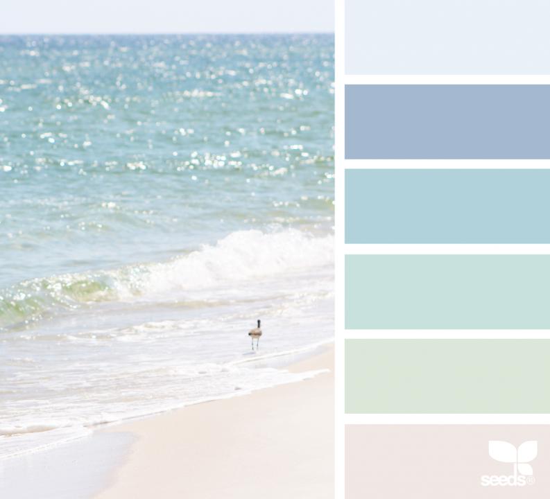 colores suaves de verano