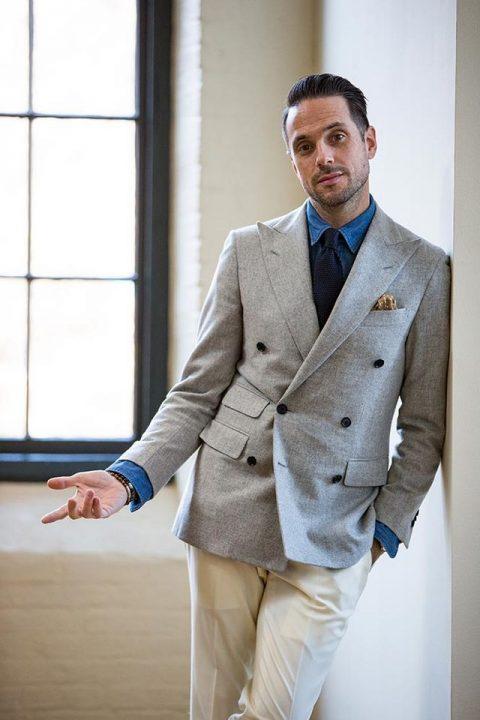 Invitados de boda: looks para hombres que buscan diferenciarse