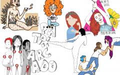 portada collage ilustraciones feministas