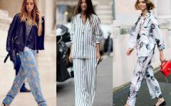 tendencia pijama