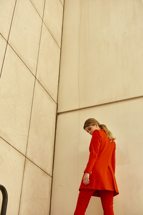 Terracota, editorial de moda