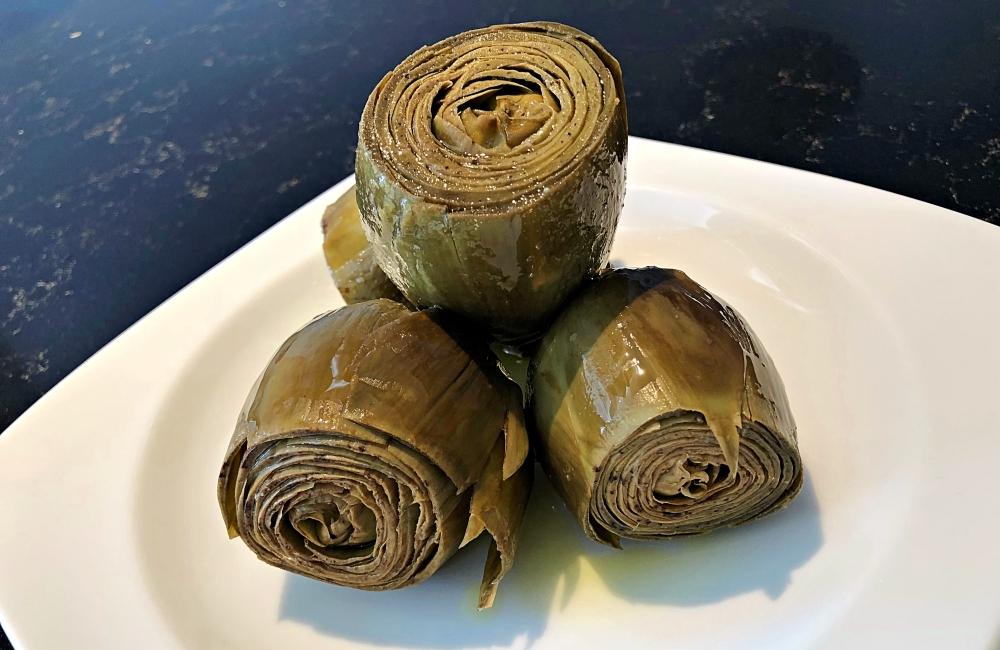 Recetas sanas alcachofas confitadas