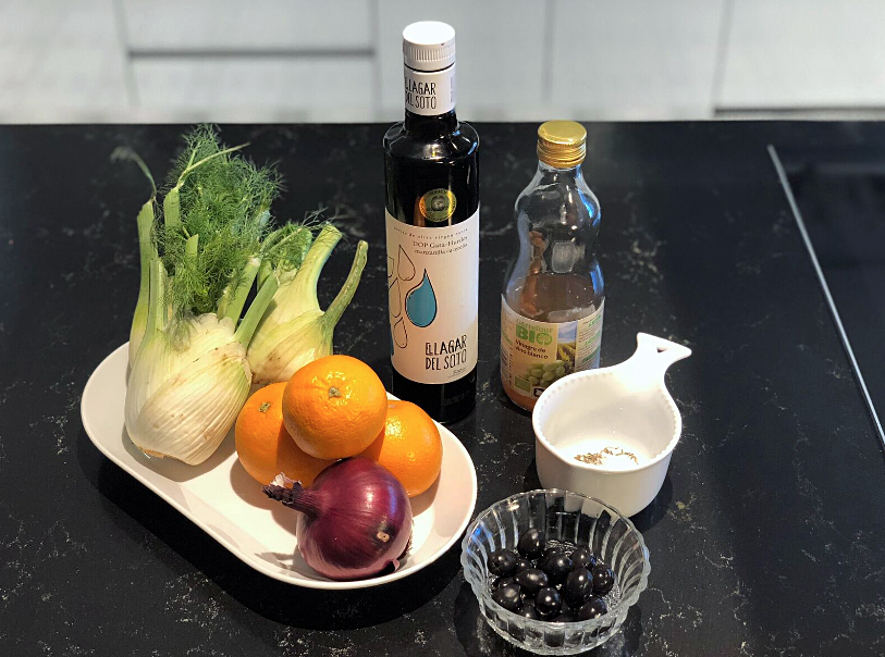 recetas sanas: ensalada primavera