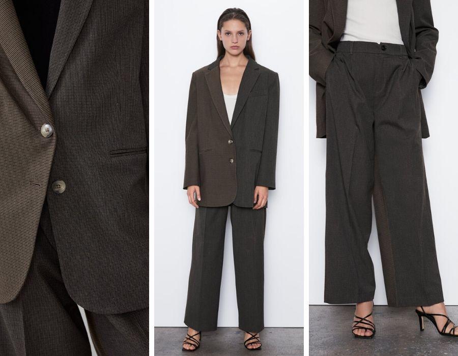 Traje masculino con dos piezas de Zara