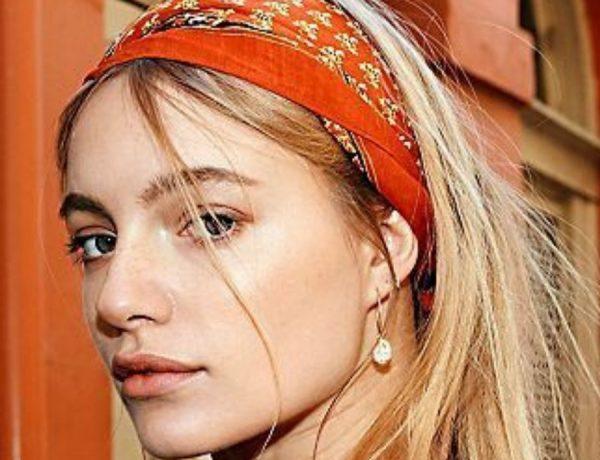 La bandana, nueva tendencia para esta primavera |Foto: Pinterest.