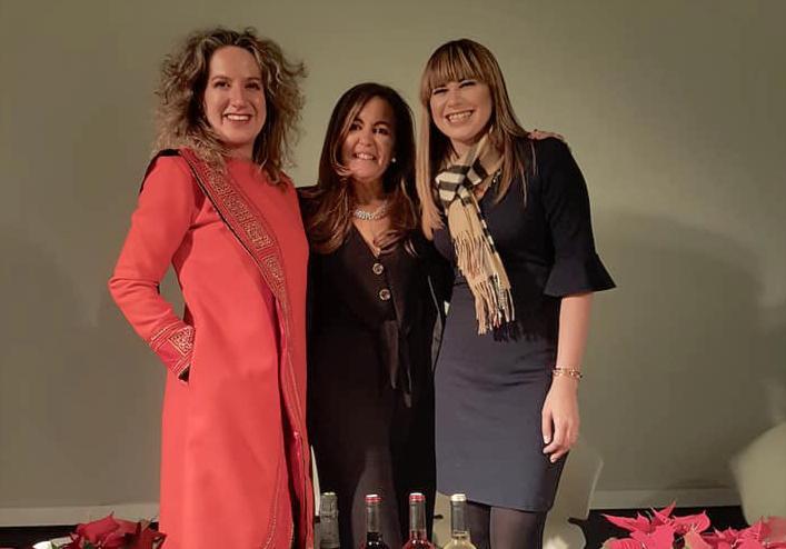 Ana Zuazo, Fátima Martínez y Vilma Nuñez