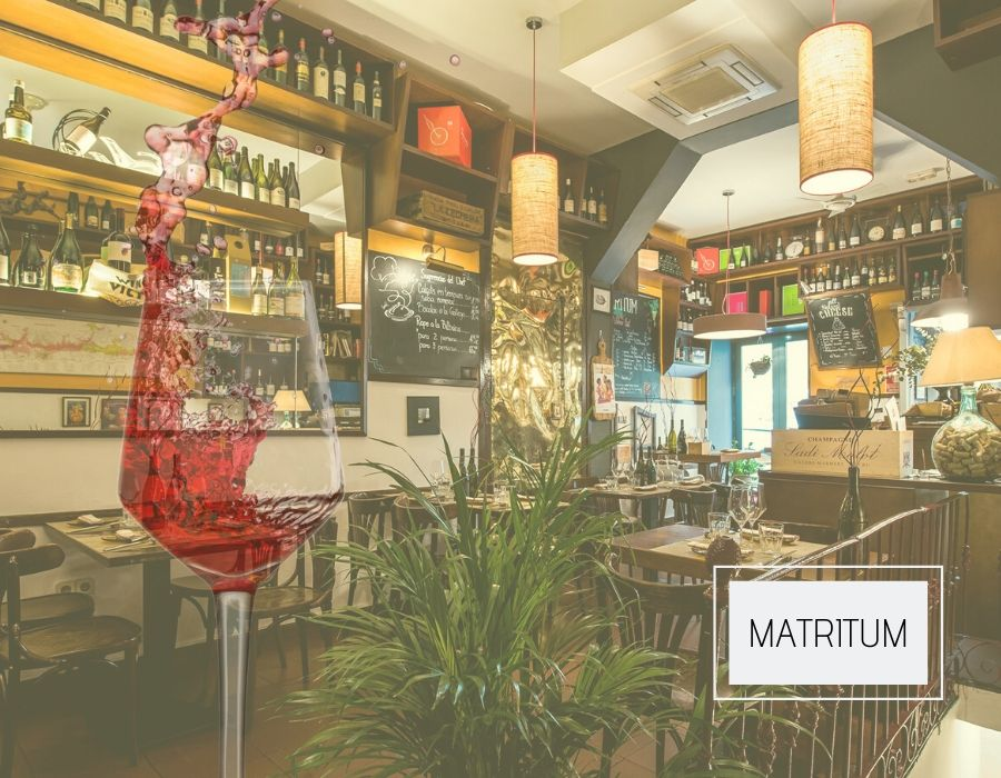 Sala del restaurante Matritum
