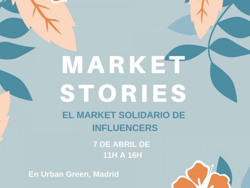 Market Stories: el mercadillo solidario de influencers