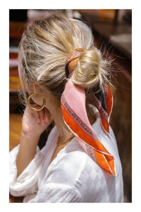 Distintas formas de llevar pañuelo en tu hair style