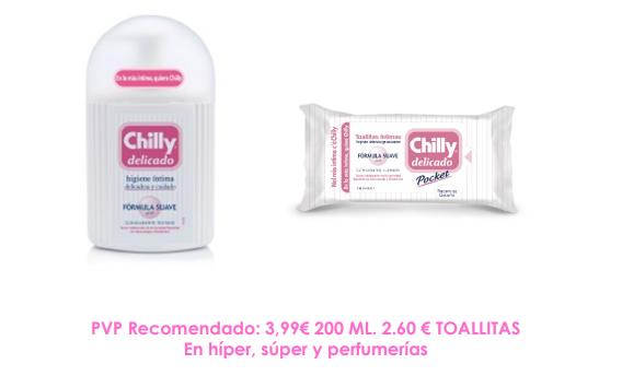 Chilly Delicado - gel de higiene íntima