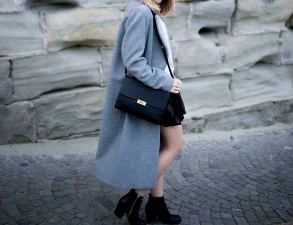 El abrigo largo: 5 maneras de combinar una de las tendencias del invierno. Foto: Pinterest.