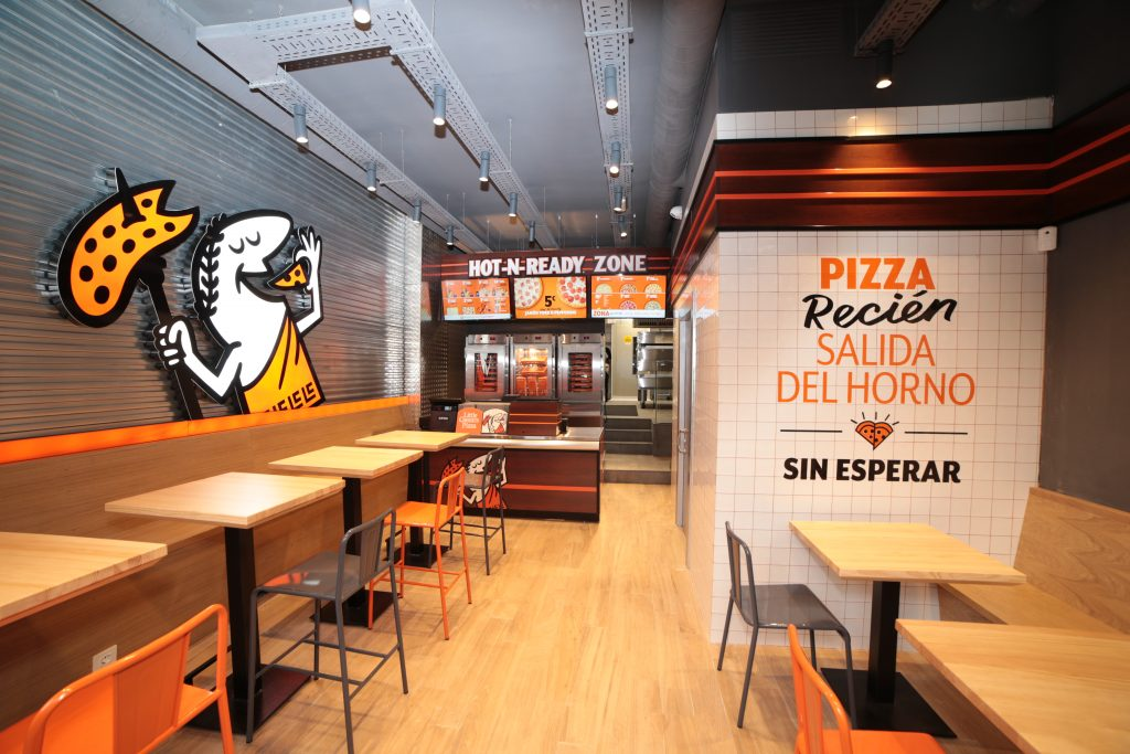 Local de Little Caesars Pizzas situado en la Calle Bravo Murillo 113, en Madrid | Foto: LCP.