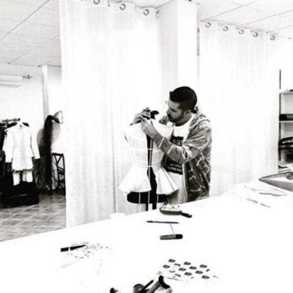 Joseph Daniel en el taller