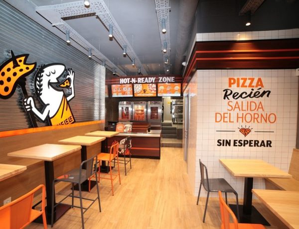 Local de Little Caesars Pizzas situado en la Calle Bravo Murillo 113, en Madrid |Foto: LCP.