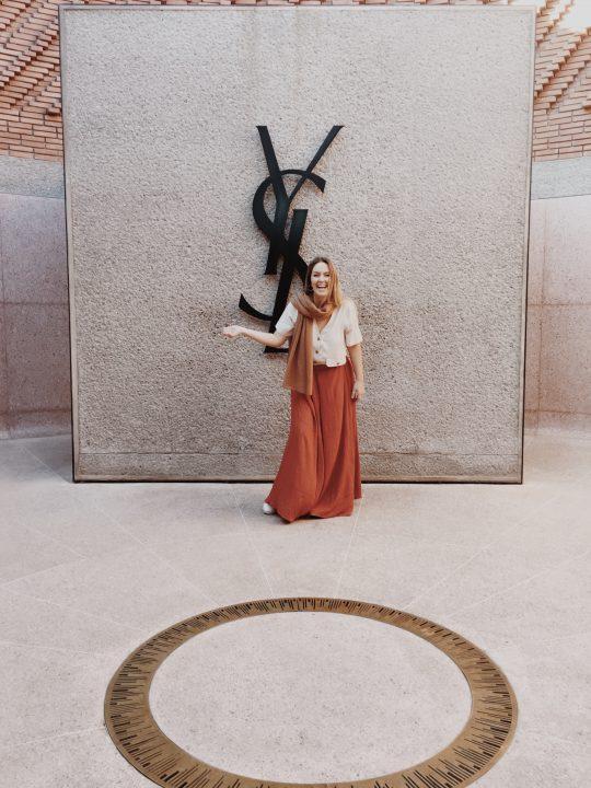Gara Sevilla en el interior del museo