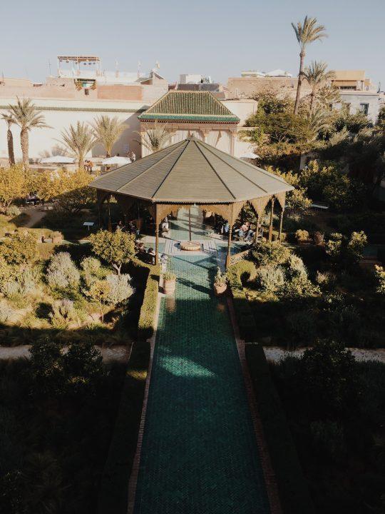 Jardín Secreto desde arriba
