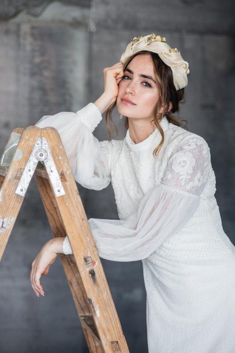 Moda nupcial sostenible del atelier Laura Escribano