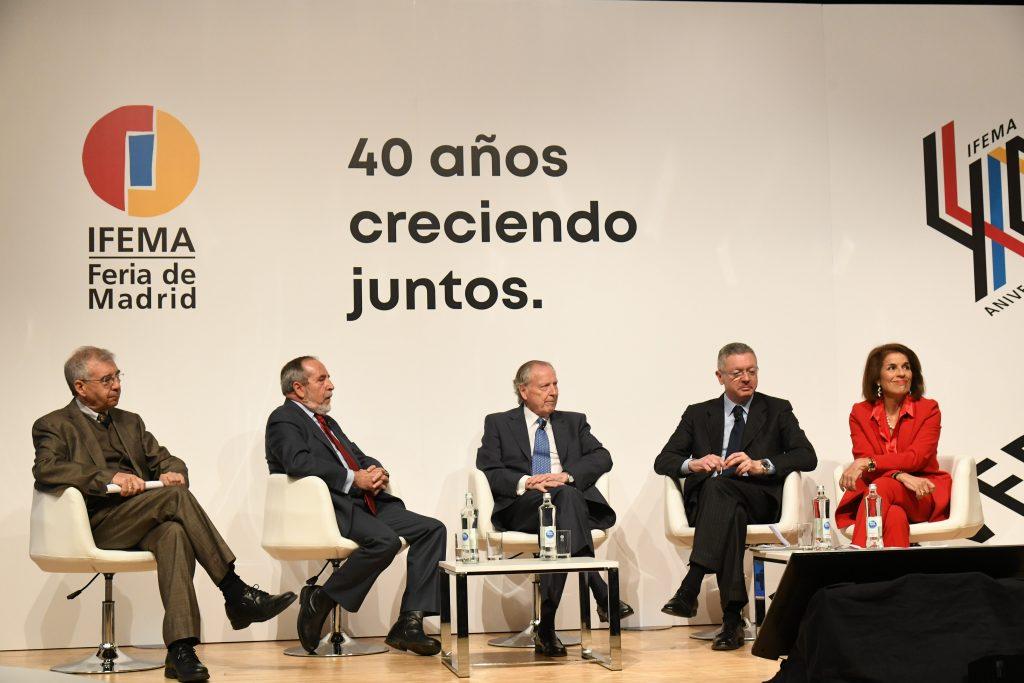 De izq. a der.: Alberto Ruiz-Gallardón y Ana Botella |Foto: IFEMA.