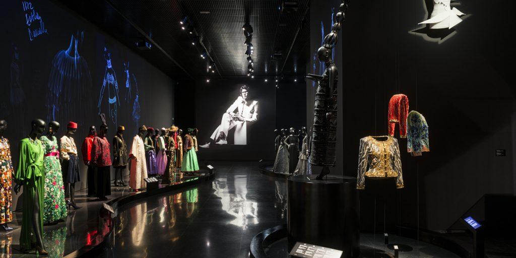 Interior del museo de YSL